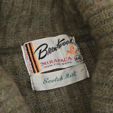 Load image into Gallery viewer, Vintage Brentwood Shawl Collar Wool Sweater Size US/UK 44 - Moss Green