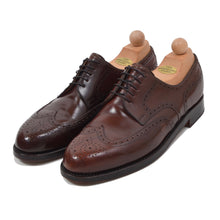Load image into Gallery viewer, László Vass Shell Cordovan Budapester Shoes Size 46 - Burgundy