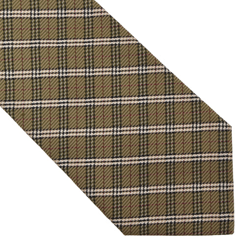 Burberry London Tie - Green Novacheck