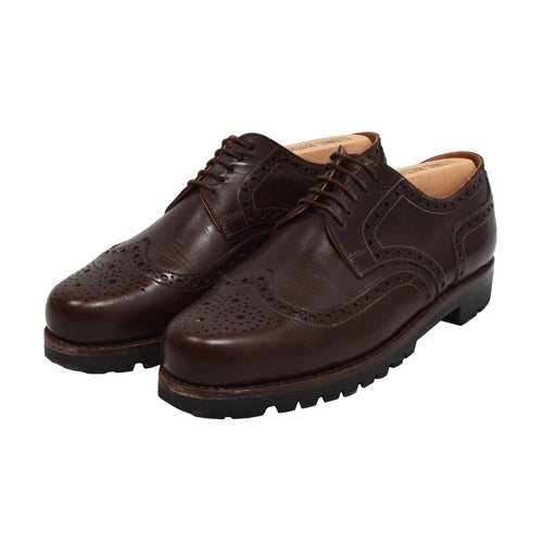 Ludwig Reiter Budapester Shoes Size 8 - Burgundy-Brown