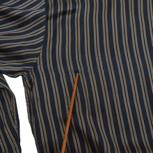 Load image into Gallery viewer, Palmer's Silk Pyjamas Size 52-54 - Navy Stripe