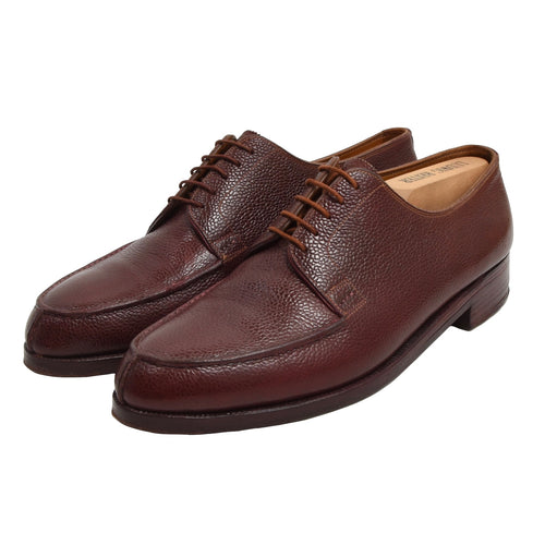 Vintage Bespoke Bela Nagy Split Toe Norweger Shoes - Burgundy