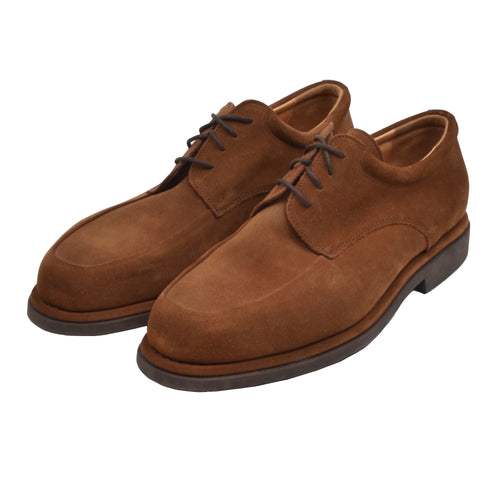 Bruno Magli Suede Shoes Size 10 - Tobacco Brown