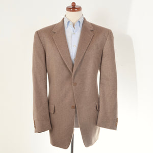 Walbusch Baby Camel Hair Jacket Size 54 - Sand
