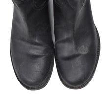 Load image into Gallery viewer, Miu Miu Vachetta Leather Boots Size 6-61/2 - Black