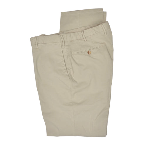 Incotex High Comfort Cotton Pants - Khaki