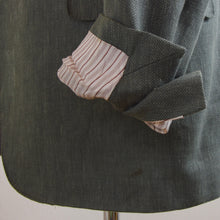 Load image into Gallery viewer, Ermenegildo Zegna Crossover Linen/Wool/Silk Jacket Size 54 - Green