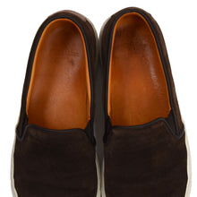 Load image into Gallery viewer, Ludwig Reiter Suede Slip On Shoes Size 43 - Chocolate Brown