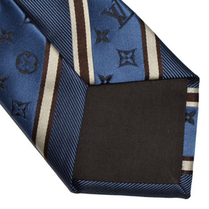 Louis Vuitton Monogram Tie - Blue