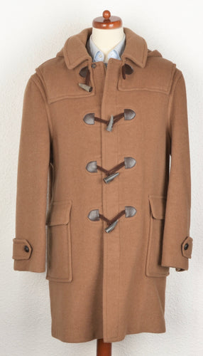 Divano Duffle Coat with Detachable Hood Size 28/56SH - Camel