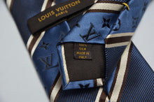 Load image into Gallery viewer, Louis Vuitton Monogram Tie - Blue