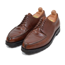 Load image into Gallery viewer, László Vass Split Toe Norweger Shoes Size 45.5 - Cognac Brown