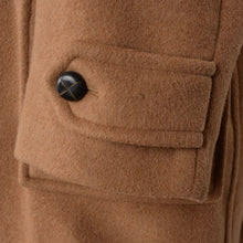 Load image into Gallery viewer, Divano Duffle Coat with Detachable Hood Size 28/56SH - Camel