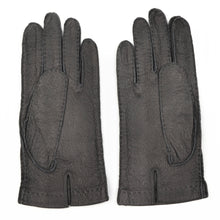 Load image into Gallery viewer, Unlined Peccary Gloves Size 8 3/4 - Grey