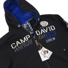 Load image into Gallery viewer, Camp David Hoodie Size M - Black