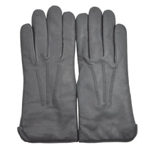 Load image into Gallery viewer, Lined Leather Dress Gloves - Grey