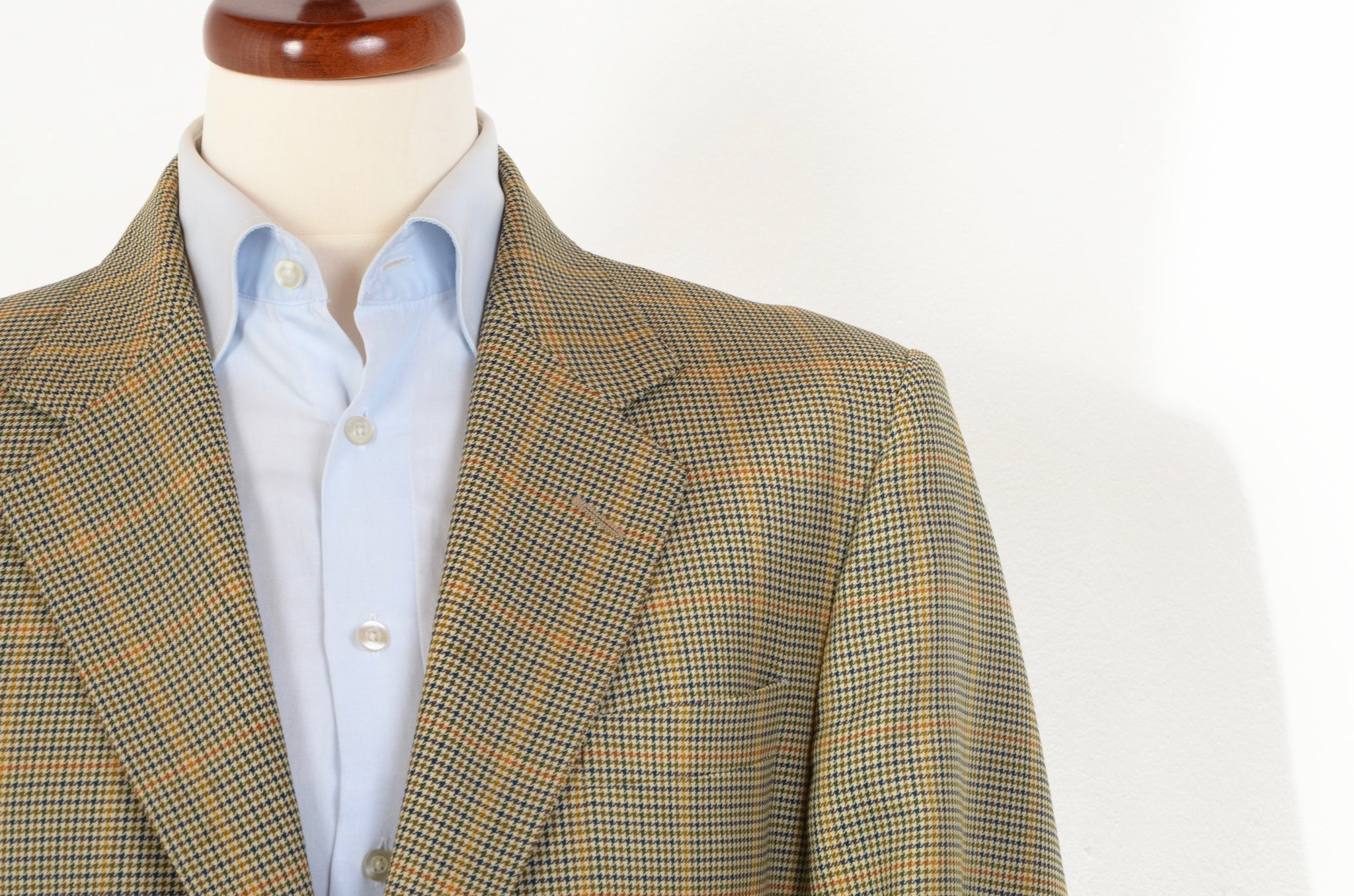 Austin Reed X Chester Barrie Jacket Plaid Leot James