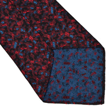 Load image into Gallery viewer, Knize Wien Unlined Silk Tie - Black, Red & Blue