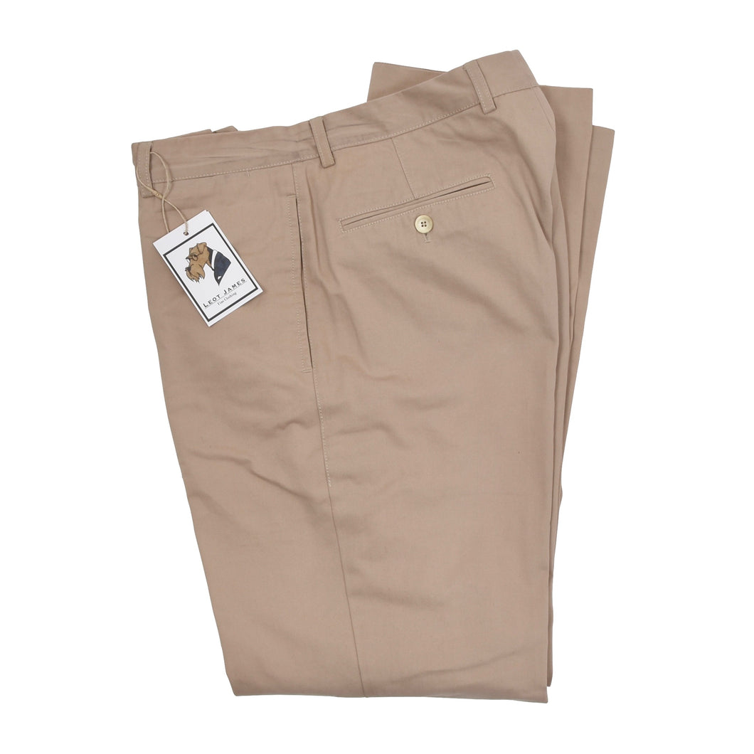 Brunello Cucinelli Cotton Pants Size 50 - Tan