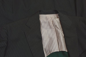 Boglioli Silk/Cotton Suit Size 50 - Dark Green
