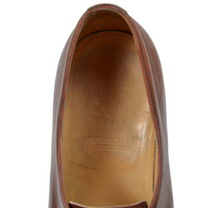 László Vass Split Toe Norweger Shoes Size 45.5 - Cognac Brown