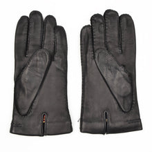 Load image into Gallery viewer, Lined Deerskin Gloves Size 9 1/2 - Black