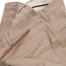 Load image into Gallery viewer, Brunello Cucinelli Cotton Pants Size 50 - Tan