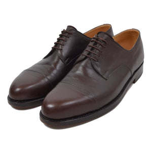 László Vass Cap Toe Shoes Size 46 - Dark Brown