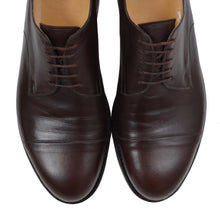 Load image into Gallery viewer, László Vass Cap Toe Shoes Size 46 - Dark Brown