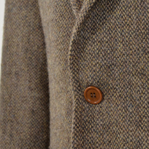 Sartoria Harris Tweed Jacket Size 52 - Brown