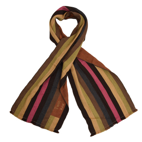 Ermenegildo Zegna Twin DdM Scarf - Striped