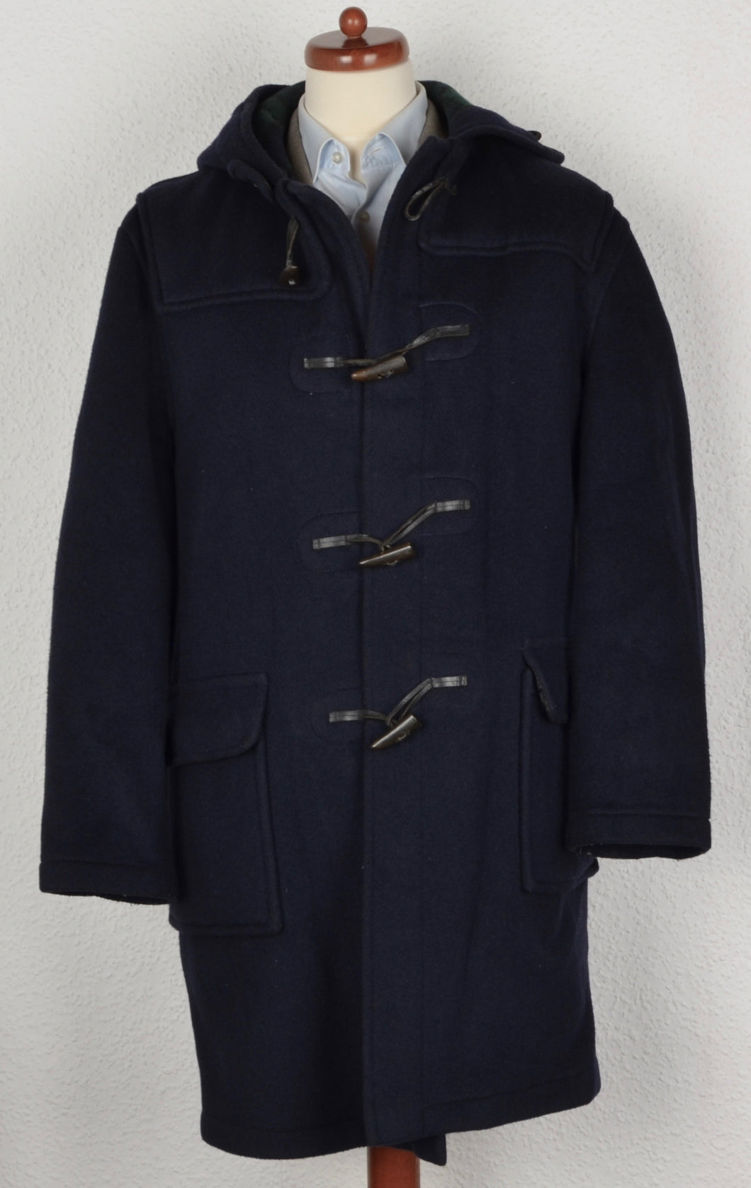 Gloverall Duffle Coat Size UK 42 EU 52 - Navy