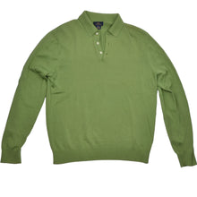 Load image into Gallery viewer, Brooks Brothers 346 Silk/Cotton Pullover - Green