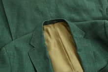 Load image into Gallery viewer, Dantendorfer Linen Jacket Size 50 - Green
