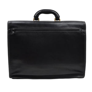 The Bridge Firenze Leather Briefcase - Black