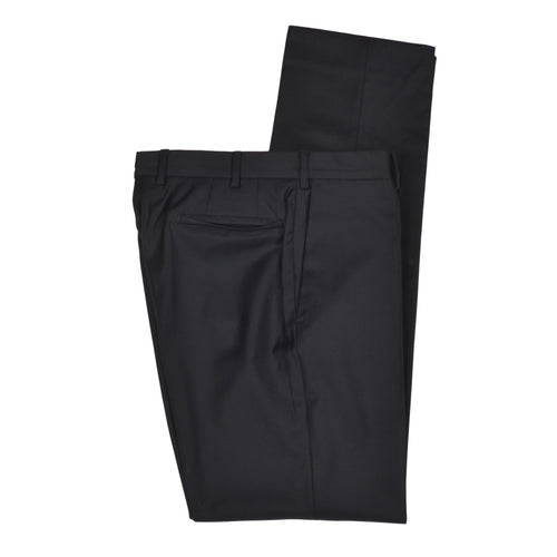 Incotex Super 100s Wool Pants Size 48 - Onyx