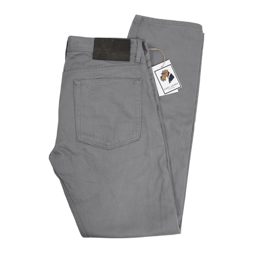 Naked & Famous Denim Griffin Selvedge Chino Size 36 - Grey
