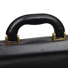 Load image into Gallery viewer, The Bridge Firenze Leather Briefcase - Black