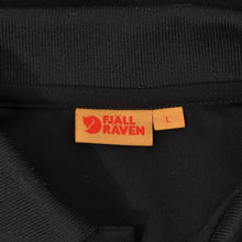 Load image into Gallery viewer, Fjäll Räven Crowley Pique  Long Sleeved Shirt Size L - Black