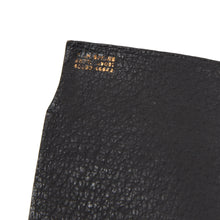 Load image into Gallery viewer, Valextra Milano Grip Spring Wallet - Black Sharkskin