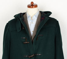Load image into Gallery viewer, Gloverall Duffle Coat Size UK 44 EU 54 - Green