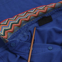 Load image into Gallery viewer, Vintage Missoni Mare Polo Shirt Size L - Blue