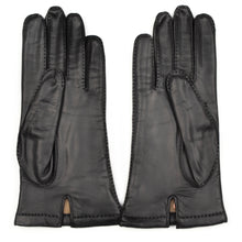 Load image into Gallery viewer, Lined Calfskin Gloves Size 8 1/2 - Black