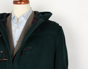 Gloverall Duffle Coat Size UK 44 EU 54 - Green