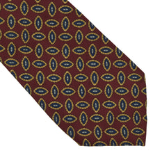 Load image into Gallery viewer, Burberrys London Neat Silk Tie - Burgundy