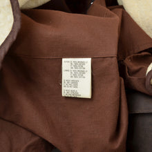 Load image into Gallery viewer, The Australian Collection Waxed Duster Size L - Brown