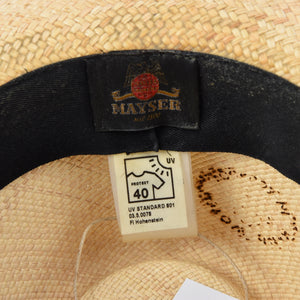 Mayser Panama Hat Size 58 - Natural