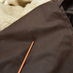 The Australian Collection Waxed Duster Size L - Brown
