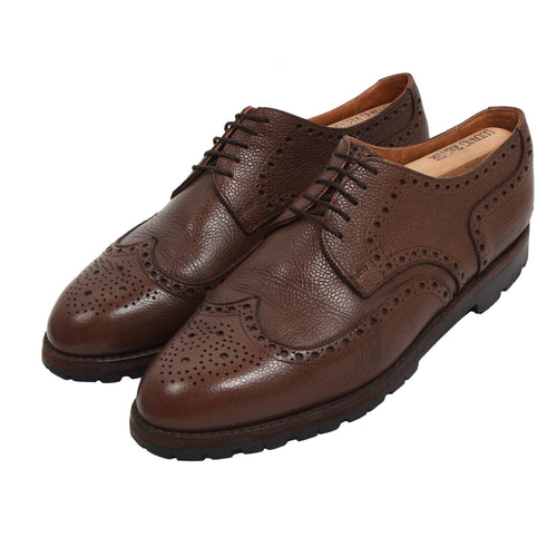 Ludwig Reiter Scotch Grain Budapester Shoes Size 11.5 - Brown