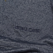 Load image into Gallery viewer, Versace Classic Stretch Polo Shirt Size XXL - Metallic Charcoal